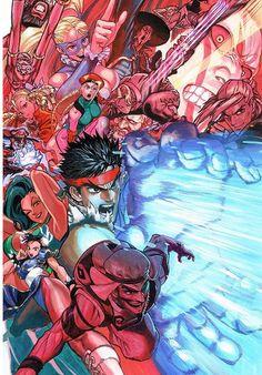 dehorvie: Can't wait SFV <3 ! Official artwork by Capcom