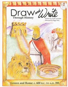 Draw and Write Through History: Greece and Rome ( by Carylee Gressman. Mystery of History Volume 1 Roman History, European History, Ancient History, History Medieval, British History, History Quotes, History Books, History Facts, Art History