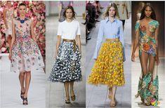 Top fashion trends 2015 - Latest fashion trend Floral applique dress
