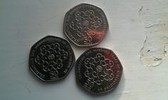 Centenary 50p coin 50p Coin, Coins, Music Instruments, History, Inspiration, Ideas, Biblical Inspiration, Historia, Rooms