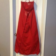 private collection Dresses & Skirts - Gorgeous red bridesmaid/formal dress