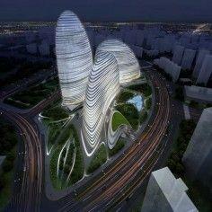 Zaha Hadid Architects and Patrick Schumacher