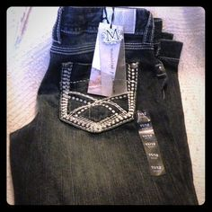 Maurices premium foil jeans Brand new, never worn. I have had these on my closet waiting to lose weight to fit into them...I finally lost the weight but waited too long and they don't fit. They have never left my house, only have hung in the closet. They are super cute and brand new. Maurices Jeans
