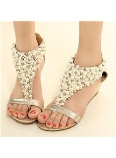 5403ee174d6 You can find various of cute flat shoes for huge discount including rhinestone  thong flat sandals