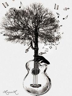 Resultado de imagem para music tree