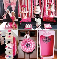 Barbie Party - link doesn't work right but great ideas in the photos