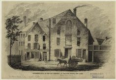 Old Brewery before it was taken over by Mission (perhaps oldest picture. 1837-1851)