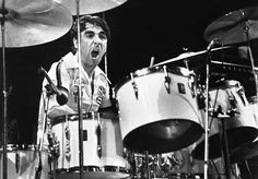 Keith Moon, drummer of The Who died at 32 of a drug overdose.