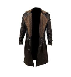 Brown Trench Coat, Leather Trench Coat, Fur Coat, Shearling Coat, Trench Coats, Mens Leather Coats, Real Leather, Leather Jackets, Men's Leather