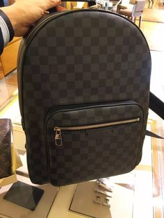 Louis Vuitton Daimer Canvas Josh BackPack N41473