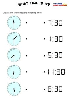 20 Clock Worksheets Grade 3 telling time in spanish printable worksheets