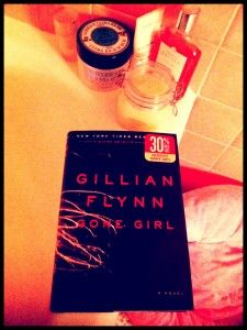 I am loving Gone Girl by Gillian Flynn!  Featured in today's High-Low 8 on #beautyfrosting  #gonegirl #gillianflynn #entertainmentweekly #ew #summerreading #relationships #romance #suspense #mystery #thriller #love #book #books #reading #bookclub #bathtime #bedtime #read #toread #booklist #readinglist #favoritebooks #bestbooks