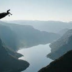 Life on the edge by Johanne James