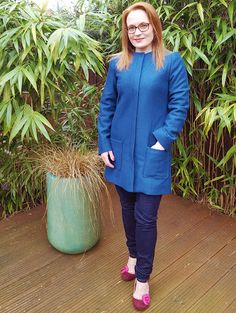 Image result for sew over it chloe coat