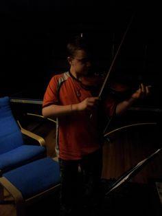 Casey on violin!