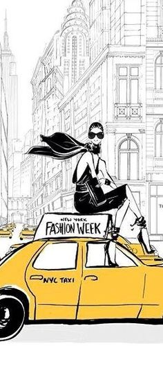 Once In a While, The Women of New York Leave The Cold Days Behind and Look Forward To Be Wrapped in Trendy Summer Clothes .. This Is Known as New York Fashion Week 2018!
