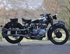 Sold for inc. premium The ex-Murray Motorcycle Brough Superior Frame no. 1057 Engine no. JTOR/D 39150 Motos Vintage, Vintage Cycles, Vintage Bikes, Vintage Motorcycles, Vintage Cars, British Motorcycles, Vintage Travel, Honda Motorcycles, Cars And Motorcycles