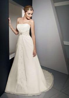 té somptueux robes de mariée bustier jolie 2012