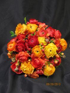 Stunning Ranaculus Bouquet