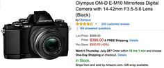 New low price: E-M10 with lens for $399 only #photography