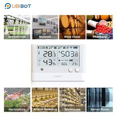 UbiBot is the world leading provider of smart IoT products like wireless sensors, Server Room Environmental Monitoring Equipment and many more solutions. Data Logger, Server Room, Temperature And Humidity, Light Sensor, Big Data, Ios App, Mobile App, Wifi, Monitor