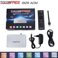 56.55$  Watch here  - 2017 1 pcs tocomfree i928ACM+wifi adapter free iks Latin America +NEWCAM +CCCAM +POWERVU