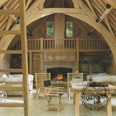 The Iconic Segull House Oak Timber Framed Barn Conversion