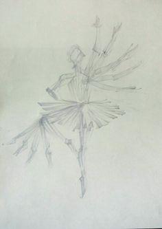 발레를 하는 무용수의 움직임을 오버랩시켜 표현하려고 했습니다