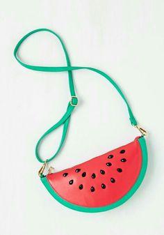 Bolsa melancia, como n amar???  #melancia #amo