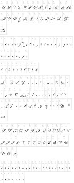 Tagettes Font | dafont.com
