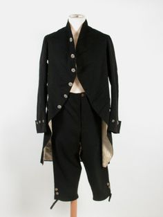 Man's jacket and breeches, 1800, Killerton Fashion Collection © National Trust.