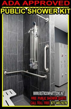 Wall mounted shower panels for schools can be placed between ...