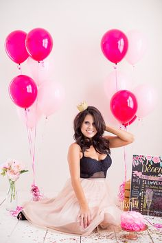 Adult cake smash photo shoots for a milestone birthday are so much fun! You'll adore Deseree's Birthday Photoshoot full of classy DIY ideas for cake smash pictures to treasure for years to come!
