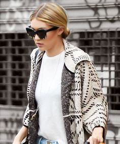 Gigi Hadid's outfit is perfect from head to toe