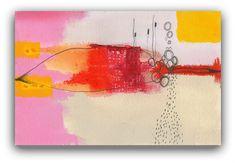 Contemporary Modern Art  an Original Abstract by ChristinaRomeo, $45.00
