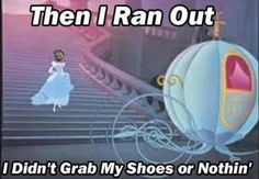 I RAN for my life! Ain't nobody got time for that! :p
