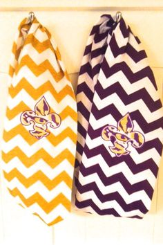 Hey, I found this really awesome Etsy listing at http://www.etsy.com/listing/155063467/lsu-tiger-chevron-infinity-scarf