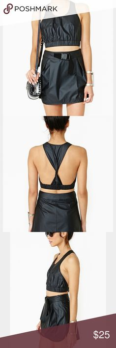 Nasty Gal infinity and odyssey skirt and top set Only worn once! Great for beach or party! Nasty Gal Skirts Mini