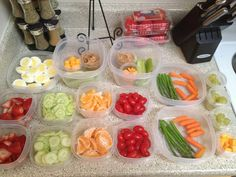 Prepare your healthy snacks for the week ahead of time