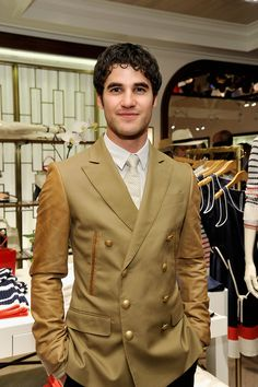 Darren at the Tommy Hilfiger opening party 13 Feb 2013
