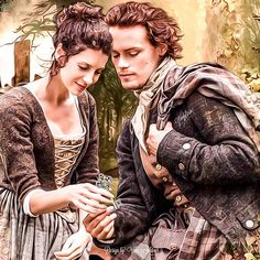 "Claire & Jamie ""The keys to my heart"""