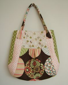 Melly and Me MEADOW Bag Tote Purse Sewing by MyPatternPlace, $12.00