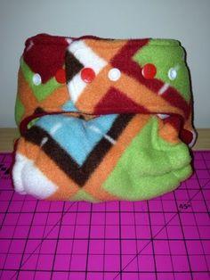 DIY: sew a heavy wetter night time cloth diaper