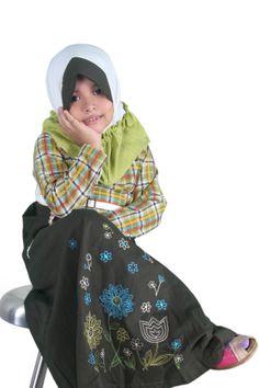 chavitakidz busana muslim anak art  tasya