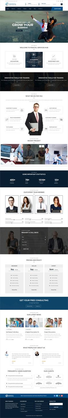 Business Hub is a wonderful multipurpose #WordPress theme for #webdev Business, #Financial #Advisor, Accountant, Law Firm, Wealth Advisor, Investment and general corporate websites download now➩  https://themeforest.net/item/financial-business-hub-corporate-wordpress-theme/19084123?ref=Datasata