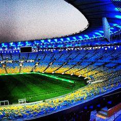 Estádio do Maracanã (Maracanã Stadium) en Rio de Janeiro, RJ