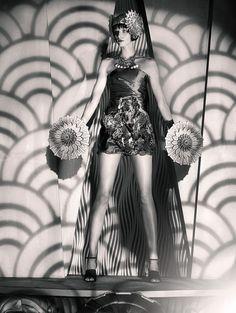 Show Time/ Schon by Sandrine Dulermo Michael Labica, via Behance Schon Magazine, Celebrity Photographers, Burlesque, Strong Women, Fashion Art, The Twenties, Fairy Tales, The Past, Behance