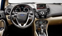Ford Fiesta, The Best Car For Women (Photo: Ford Fiesta 2014 interior)