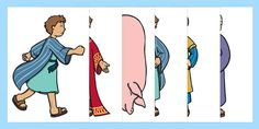 The Prodigal Son Story Cut Outs - A set of small images for you to cut out and use to bring this story to life! Preschool Bible Lessons, Bible Lessons For Kids, Sunday School Activities, Sunday School Crafts, Bible Stories, Stories For Kids, Parables Of Jesus, Godly Play, Bible Study For Kids