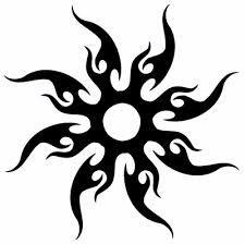 nice Tattoo Trends - Tribal Tattoo Designs - The Body is a Canvas Eagle Tattoos, Sun Tattoos, Body Art Tattoos, Celtic Tattoos, Sleeve Tattoos, Tattoos Skull, Tatoos, Tribal Moon Tattoo, Hawaiian Tribal Tattoos